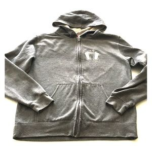 Zip-Up Crossfit Hoodie Sweatshirt